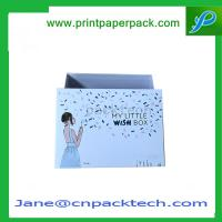 China Custom Printed Set-Up Boxes Rigid Cardboard Box Lid and Base Boxes Paper Gift Box on sale
