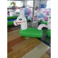 China Exciting Inflatable Water Toy , Adventure Aqua Park Water Ride Series for Adults & Kids on sale