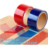 Quality Tamper Evident Security Void Tape,Anti Tamper Proof Evident Security Warranty Void Tape for sale