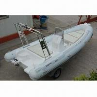 Quality Outboard engine RIB boat with CE approval for sale