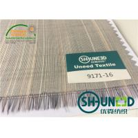 Quality Horse Tail Woven Interlining Fabric For Uniform And Business Casual Suits for sale