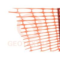 Quality Lightweight HDPE Orange Plastic Construction Fencing , 70 * 40mm Removable Pool Fence for sale