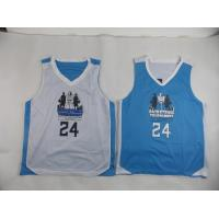 Quality Custom Unisex Mesh Basketball Jerseys Mens Sports Wear , Embroidery Printing for sale