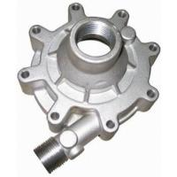 Quality Auto Parts Casting Green Sand Casting Replacement Water Pump Body / Oil Pump Cover For Car Engine for sale