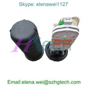 Quality 32Core Vertical Fiber Optic Splice Closure SC/UPC for sale