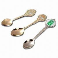 Quality Souvenir Spoons, Customized Logos are Accepted for sale