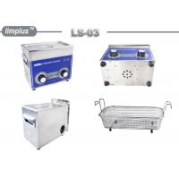 Quality 3 Liter Knob Control Table Top Ultrasonic Cleaner 120W Jewelry Watch Clean Limplus for sale