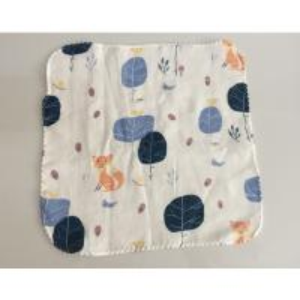 Quality baby bib 100%cotton printed gauze cloth hand towel for sale