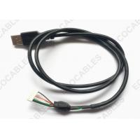Quality UL2725 USB Extension Cable Black PVC Jacket USB A male Cable With MLX 51004 Connector for sale