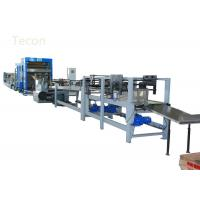 China Professional Kraft Paper Bag Machinery with Compressed Air , Paper Bag Production Line on sale