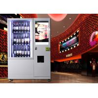 China Wine beer alcohol spirit  bottle olive oil combo Vending Machine with Network LCD Advertising Display on sale