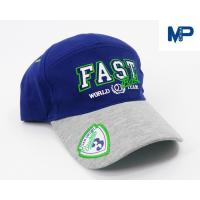 Quality Plain Embroidery Cotton Customize Baseball Hats 6 Panel With Mesh Back for sale