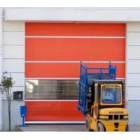 Quality Automatic PVC Fabric High Speed Fast Acting Rapid Rise Overhead Quick Roll up door for sale