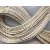 Quality Cream White Polyester Tyre Cord Fabric / Fish Netting Fabric High Modulus for sale