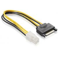 Quality SATA 15 pin Male To ATX 4 pin Power Extension Cables For Power Supply ISO9001:2008 for sale