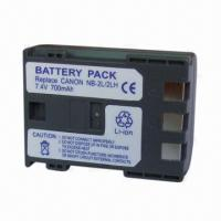 China Digital Camera Battery for Canon, with 700mAh Capacity on sale