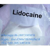 China 99% Lidocaine Local Anesthetic Powder Lidocaine Base Pain Killer  137-58-6 on sale