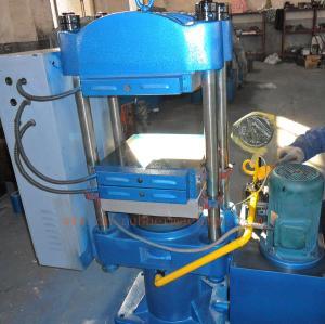 Quality 50t Column Structure Rubber Vulcanizing Press/ Vulcanizer Machine (XLB-400*400*2) for sale