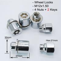 China Durable Locking Wheel Nuts , Wheel Stud Replacement For Toyota / Mitsubishi / Lexus on sale