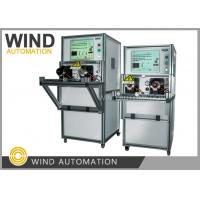 Buy cheap CE Electric Motor Testing Equipment Armature Double Station Welding Resistance from wholesalers