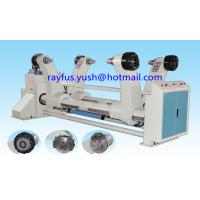Quality Custom Corrugated Cardboard Production Line / Shaftless Hydraulic Mill Roll Stand for sale