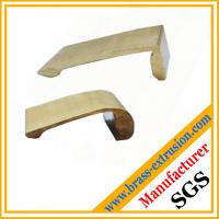 copper alloy brass extrusion profile section for pen clips
