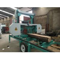 Quality Mobile Lumber Sawing Band Saw Sawmill MJ1000 portable horizontal band sawmill cutting dia.1000mm for sale