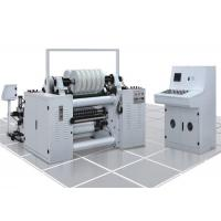 China High Speed Label Slitter Rewinder Machine Photoelectric Correcting System on sale
