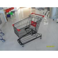 Quality 941 X 562 X 1001mm Supermarket Shopping Trolley With 4 Swivel Flat Casters for sale