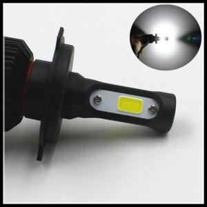 Quality Universal COB 72W 16000LM H13 9004 9007 LED headlight headlamp H4 LED Fog light Bulbs for sale