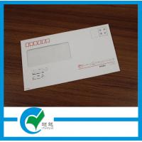Quality Customized 230 g White Paper Custom Envelope Printing with Windows for sale