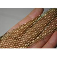 Buy cheap Ultra - Narrow Edge Wrapped SS / Copper Wire Mesh 1000 Micron 0.02m - 0.6m Width from wholesalers