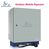 Quality GSM980 900mhz RS232 95dB 5km 3G 20w Cell Signal Repeater for sale