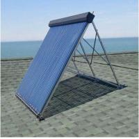 China Aluminum alloy manifold heat pipe solar thermal collector on sale