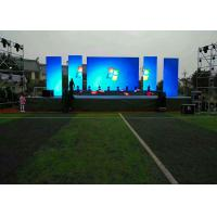 Quality DIP Stage Outdoor Led Display Board  High Definition P16 Energy Saving For Illumination for sale