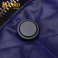 Quality 17mm brass snap button in matte black color in high quality for sale