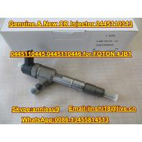 Quality Bosch Genuine & New Common Rail Injector 0445110313 0445110445 0445110446 for FOTON 4JB1 for sale