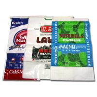 China 50KG / 100KG BOPP Laminated PP Woven Bags For Packing Wheat / Cement on sale
