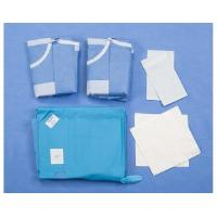 Quality Urology TUR Custom Procedure Packs , Cloth Surgical Pack Wraps for sale