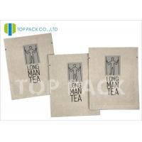Quality Moisture Proof Foil Printed Laminated Bags , Kraft Paper Food Bags Tea Packing for sale