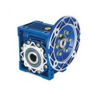Quality NMRV center distance 130 flange input ratio 60:1 single reduction worm gear reducer for sale