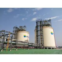 Buy cheap HYSYS Full Containment LNG Storage Tank Self Support Ceiling Double Layer Tank from wholesalers