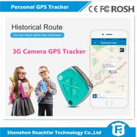 China newly released 3G gps tracker with fall alarm camera sos panic call and free app web platform real time tracking on sale