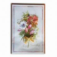 Quality Greeting Card with Beautiful Color and Delicate Design for sale