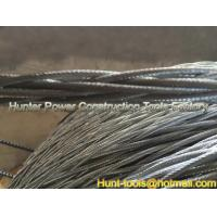 Quality Anti-twisting Braided Galvanized Steel Wire Rope 12strand braided for sale