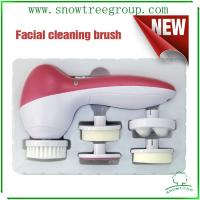 China 5in1 facial brush facial cleansing brush good quality manufacture wholesale on sale