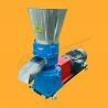 Buy cheap Agricultural waste pellet machine biomass flat die wood pelletizer sawdust from wholesalers