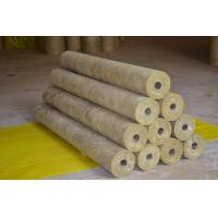 China High Density Rockwool Pipe Insulation  on sale