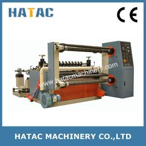 China Economic Non Woven Slitter Rewinder Paper Slitting Machine BOPP Cutting Machine on sale