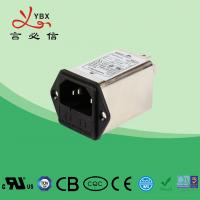 Quality Yanbixin 120 250VAC Double Fuse Power Entry Filter YB11B2 Rated Current 1A-10A for sale